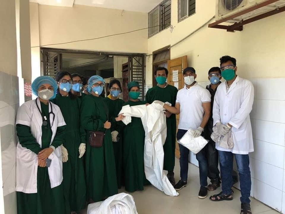Barisal Sher E Bangla Medical College PPE Handover