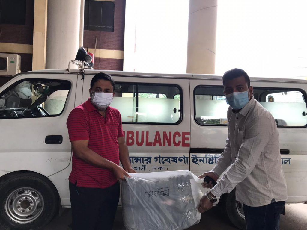 PPE Handover to Mohakhali Cancer Hospital