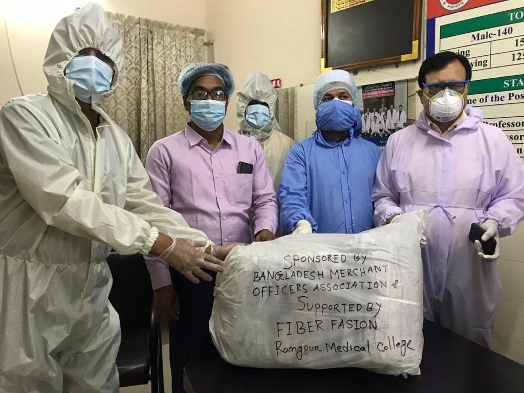 PPE Handover to Rangpur Medical University