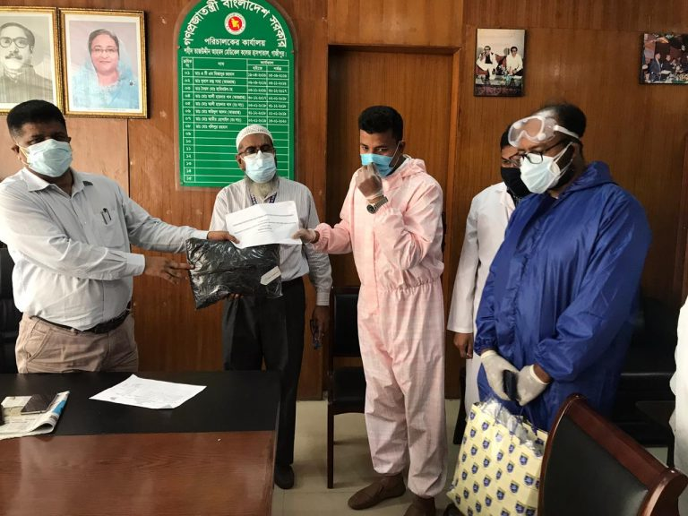 PPE Handover to Shaheed Taj Uddin Medical Colege Gazipur