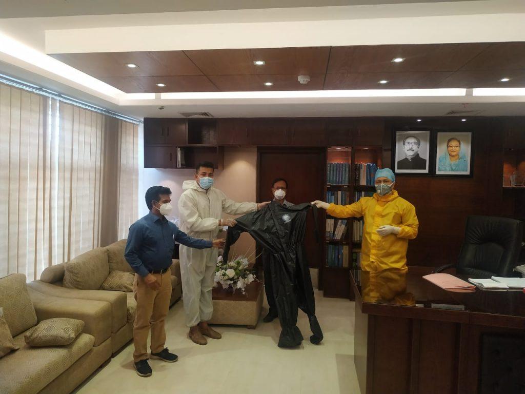 PPE for Sheikh Hasina Burn Unit
